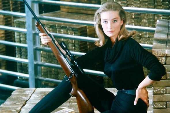 Tania Mallet: Morbid March Hare: Goldfinger