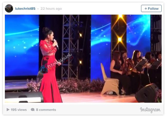 Foto Hot Vina Panduwinata Dengan Gaun Transparan