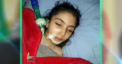 حكاية منى وفاة الطفلة الفلسطينية منى عثمان بعد سبع سنوات من المعاناة