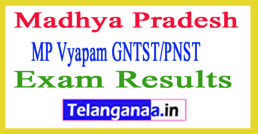 MP Nursing Entrance Exam Results 2018 GNTST PNST Result Cut Off Merit List