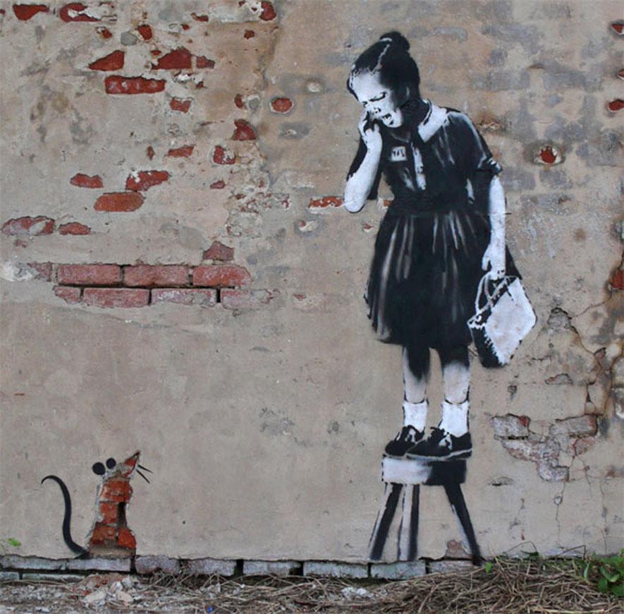 The Story Behind Banksy
