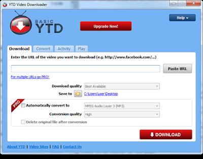 تحميل برنامج YTD Video Downloader للتحميل من اليوتيوب
