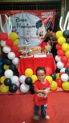 mickey mouse untuk tema ulang tahun