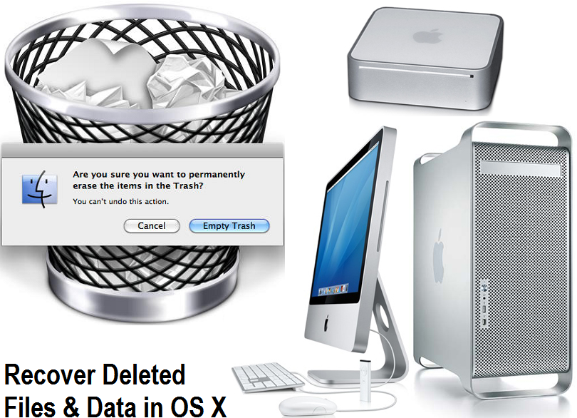 How to Recover Deleted Files & Data from Mac OS X Hard Drive