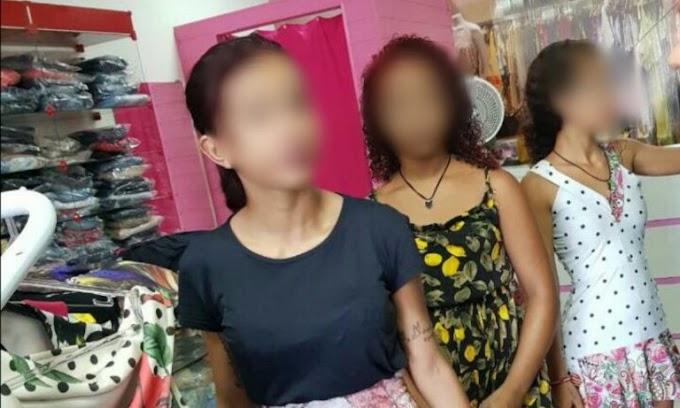 Em Itatuba: Adolescentes são acusadas de cometerem diversos furtos em lojas de roupas.