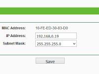 Mengubah IP Address Login Konfigurasi Router TP-LINK WR741ND