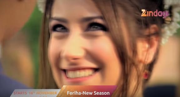 Feriha Season Zindagi Tv Show Wiki Story,Cast, Song, Promo,Timing, Images
