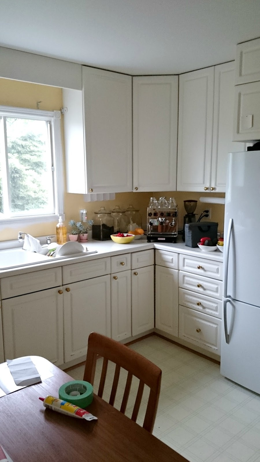 Light Pink Kitchen Budget Friendly Grey Gold Pink Kitchen Makeover Dans Le Lakehouse