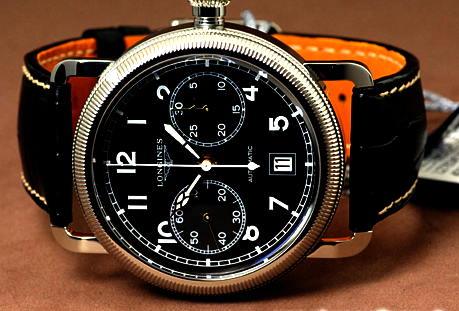 Longines Avigation Oversize Crown Review