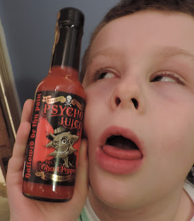 dr burnorium super hot chili sauce