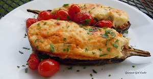 Stuffed Moussaka Boats