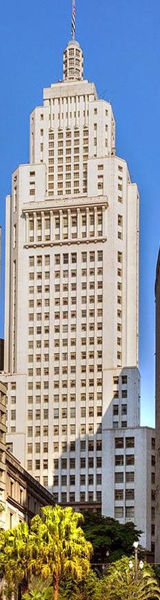 Edifício do antigo Banespa | Arquitetura arte-déco ao estilo Empire State Building