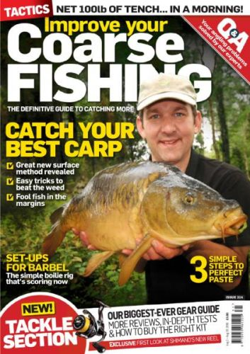 Download Improve Your Coarse Fishing Issue 314 2016 PDF