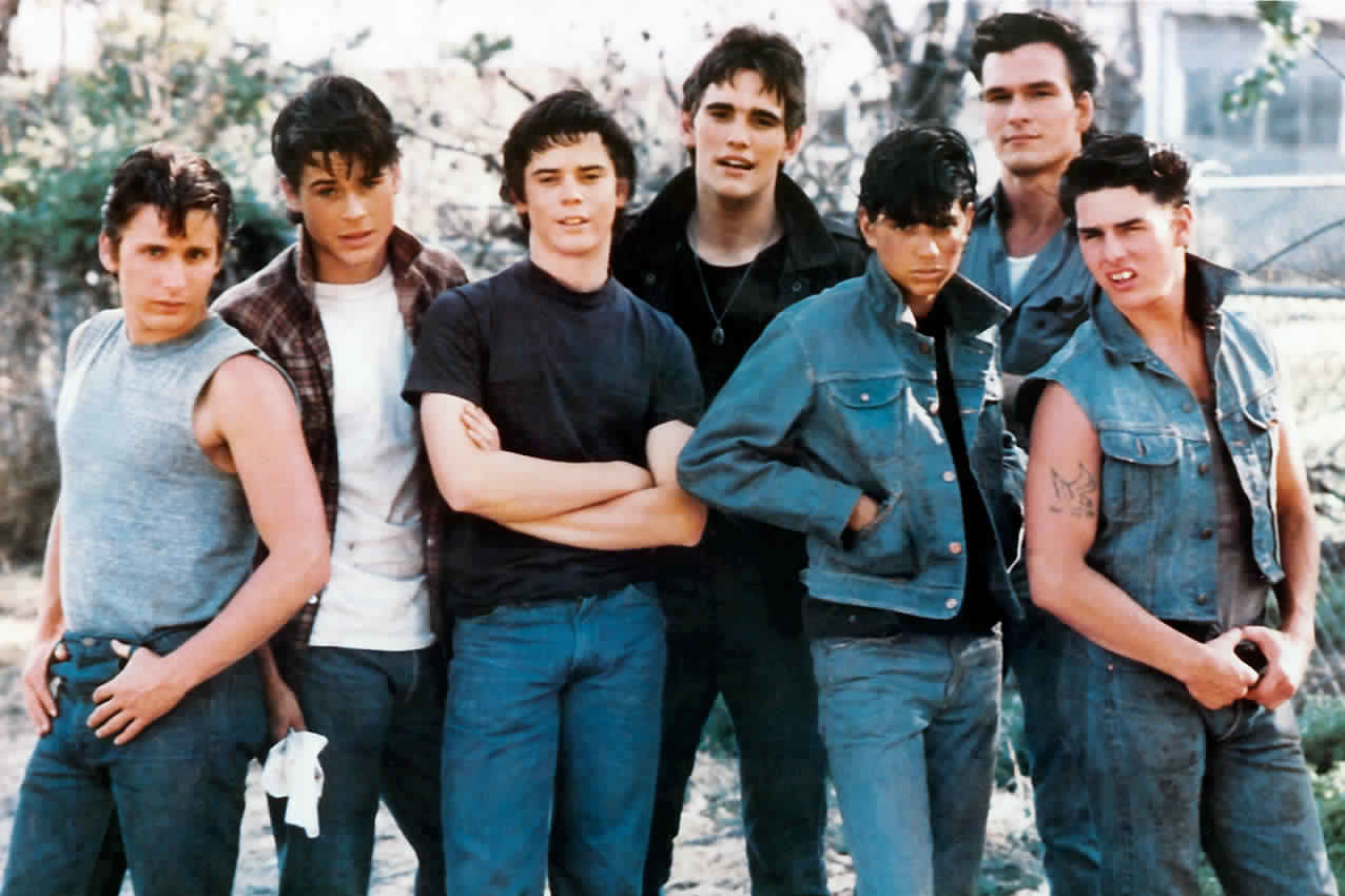 Peach Print Book Movie Review The Outsiders By S E Hinton