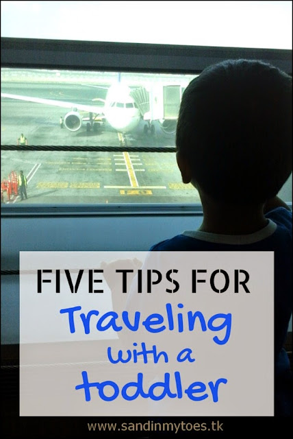 Five Tips Friday: Tips for traveling with a toddler