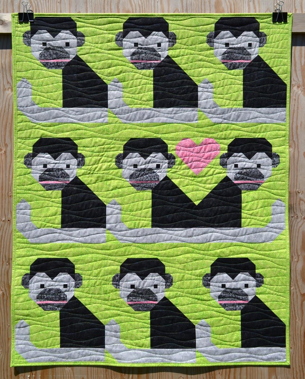 Sew Fresh Quilts: Monkey Business : monkey business quilt pattern - Adamdwight.com