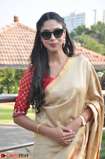 Angana Roy in Silk Saree at Teaching Tree Carnival .xyz 026.JPG