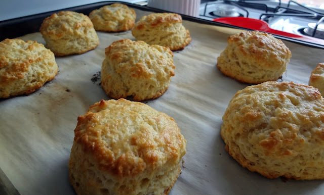 Brown Butter Biscuits