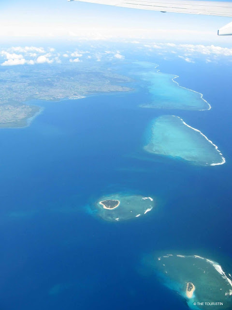 South Pacific Islands, Fiji, view, ocean, islands