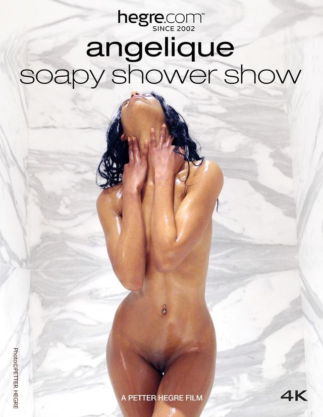 [Hegre-Art] Angelique - Soapy Shower Show