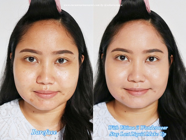 Bareface VS ULTIMA II Wonderwear Stay Last Liquid Make Up