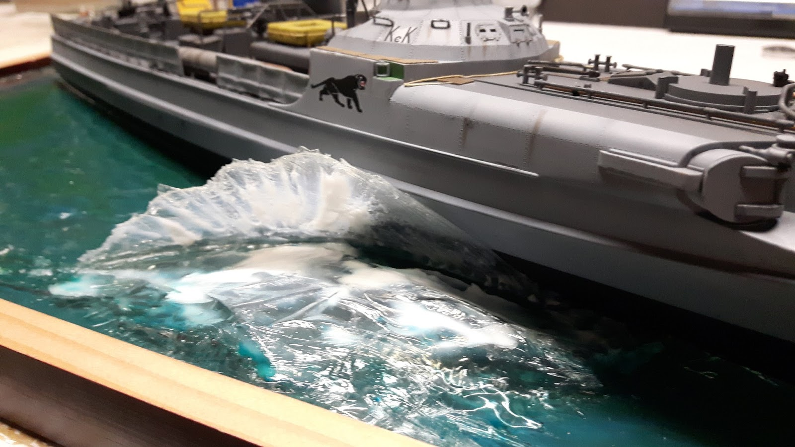 1 72 Scale Kits Amp Diorama Revell S 100 Schellboot Water