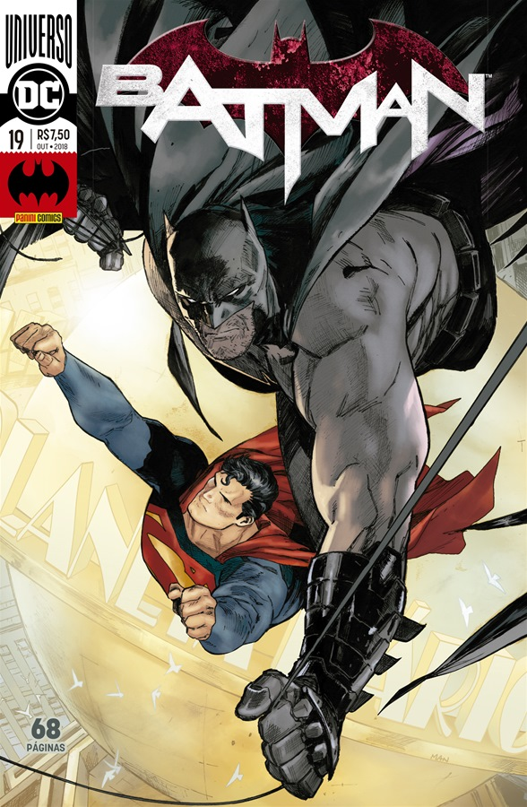 Capa de Batman #19 por Clay Mann e Jordie Bellaire.