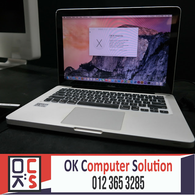 [SOLVED] MACBOOK NO ENTRY SIGN | KEDAI REPAIR MACBOOK 8