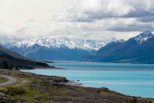 Danau Pukaki, Selandia Baru