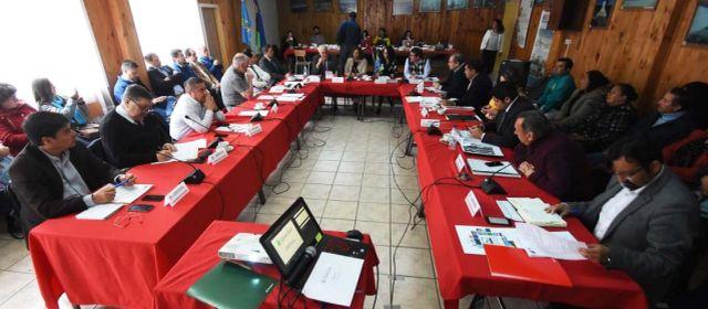 Plenario del Consejo Regional en Achao