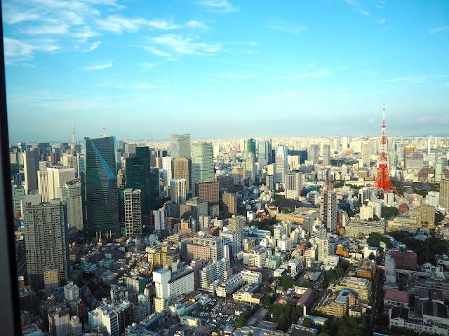 Tokyo skyline from Mori Tower, Japan