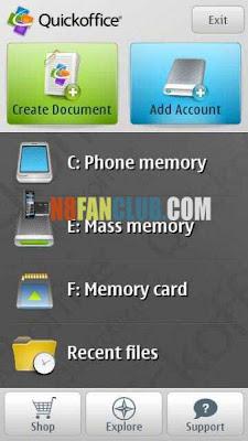 Quick Office Pro v7 00(39) Signed - Symbian^3 - Full Version