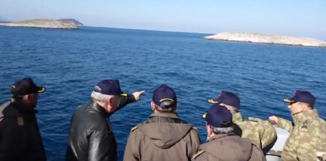 Η Τουρκική Ακτοφυλακή θα ελέγχει τα Ίμια για πρόσφυγες!