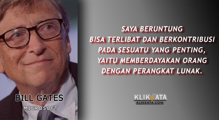 Kata Kata Bill Gates : Kumpulan Motivasi Bijak Penuh Makna