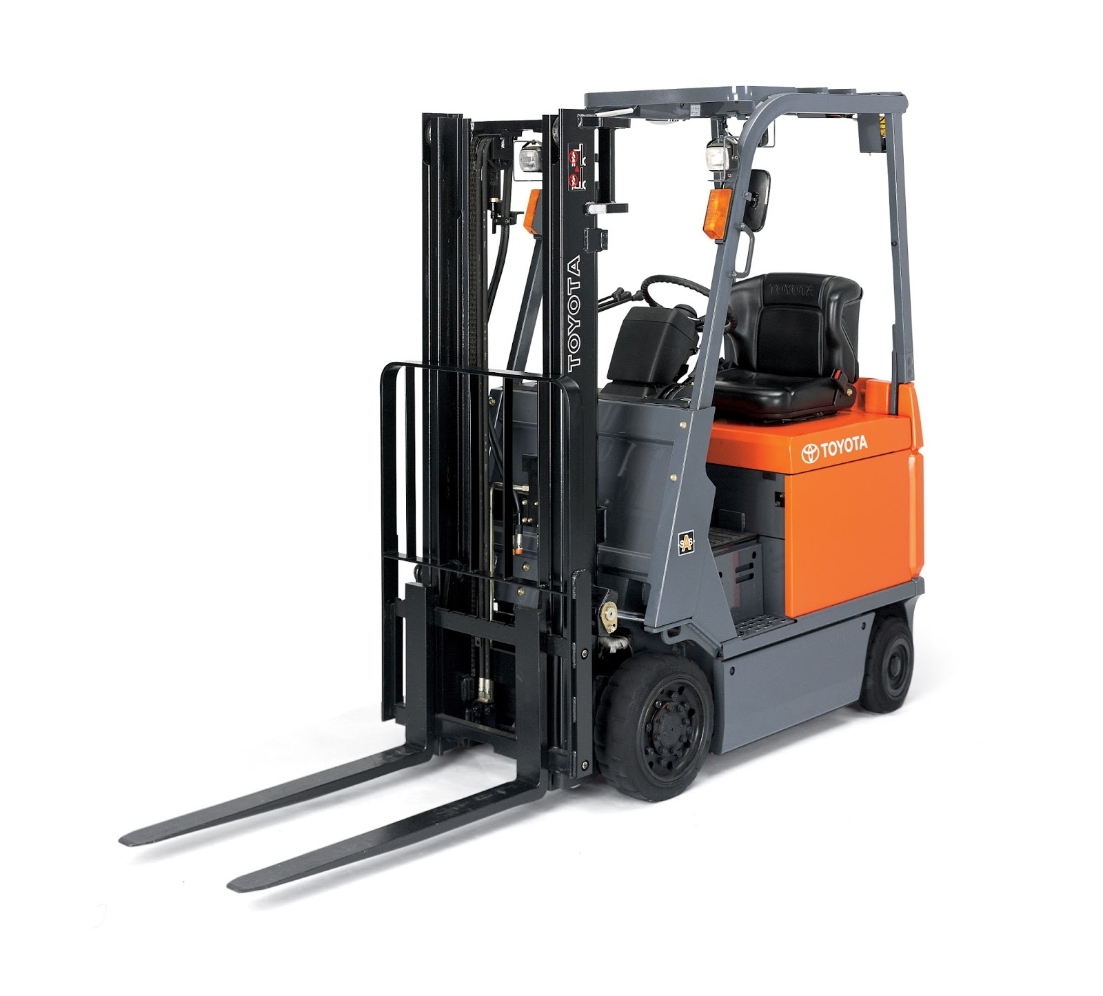 Electric Forklift Are Fueled By Large Heavy Batteries That Provide A Amount Of The Counter Weight On Lift These Lifts More Common Than