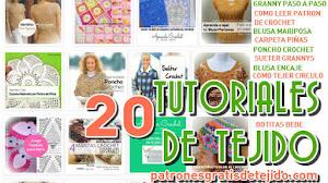 20 Tutoriales de Tejido para Todas / Colección