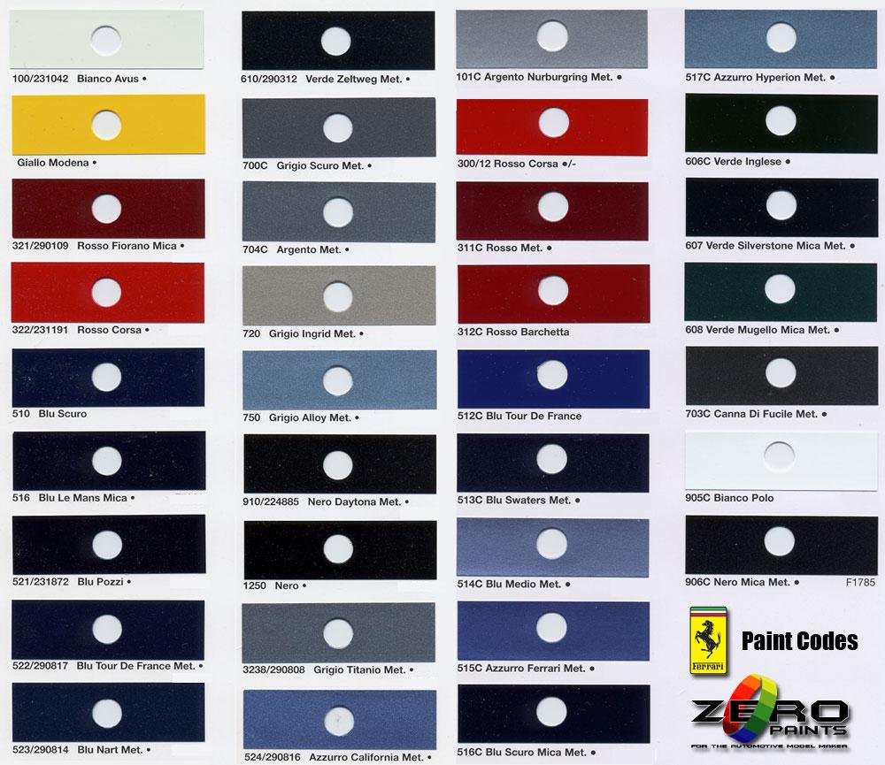 Car paint colour - Pp Pp Ppg Car Paint Colors Chart Sept 13 Coming Colours