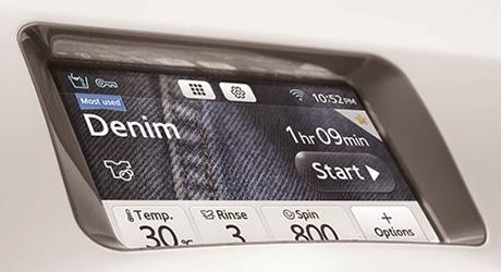 Samsung washing machine touchscreen