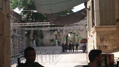 Israel vai substituir detectores de metal no Monte do Templo