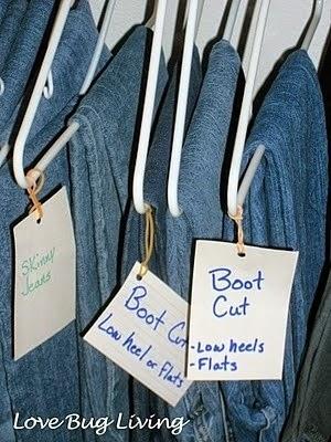 10 Ideas para mantener el armario ordenado