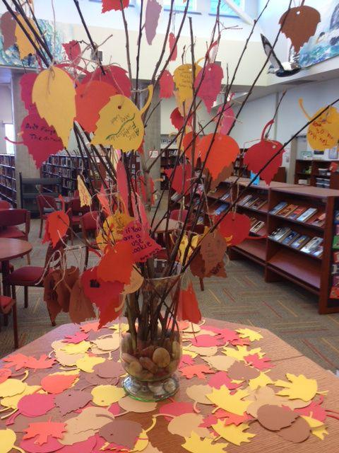 15 ideias para enfeitar a biblioteca no outono ...