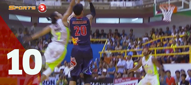 Top 10 BLOCKS of the PBA Governors' Cup 2016 (VIDEO)