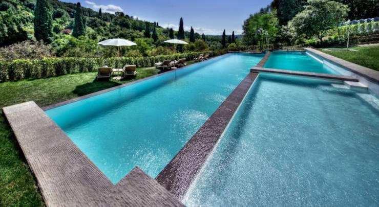 29 Most Amazing Infinity Pools in Pictures - Il Salviatino, Florence, Italy