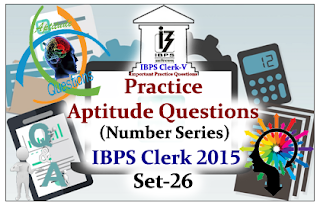 Practice Aptitude Questions (Number Series