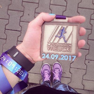 Półmaraton Wielicki – 24 września 2017 – relacja z biegu