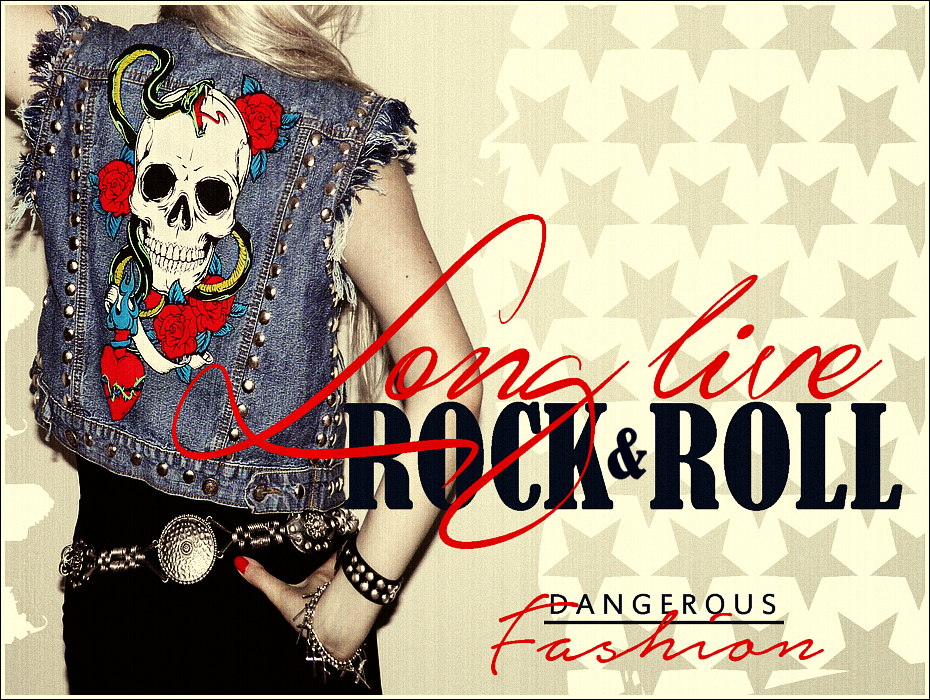 Missi Rose, Rock and Roll Style, DIY, Rock Outfit, DIY Vest, 80's style