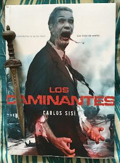 Portada del libro Los caminantes, de Carlos Sisí