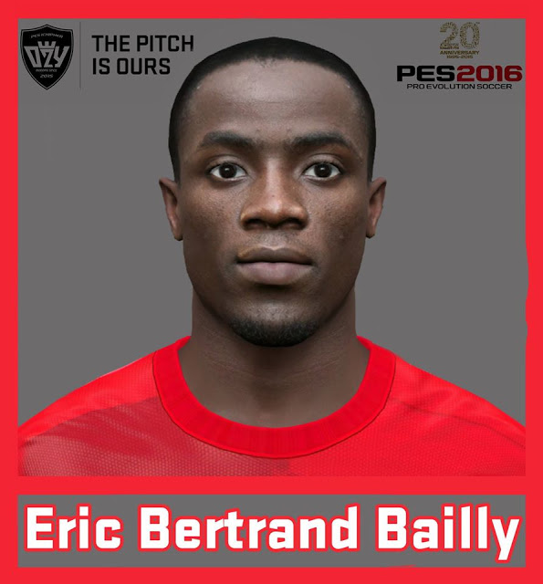 Ultigamerz Pes 2010 Pes 2011 Face: Ultigamerz: PES 2016 / PES 2017 Eric Bertrand Bailly (Man