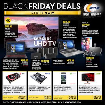Newegg Black Friday 2017 Ad