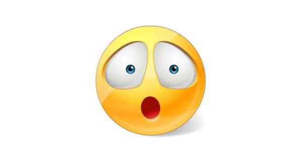 Surprised Smiley Face | Symbols & Emoticons